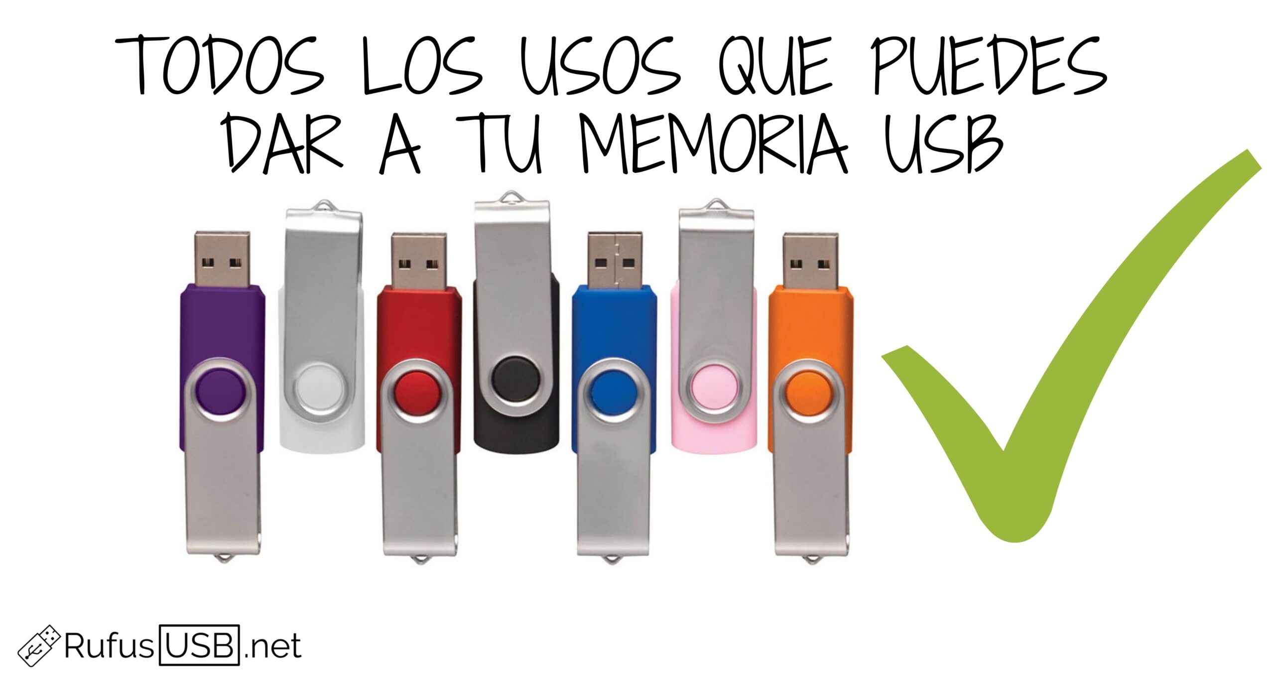Los usos que no conocías de una memoria USB