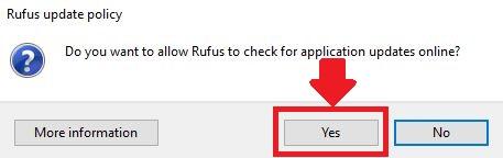actualizaciones rufus