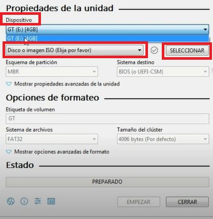 crear usb booteable ubuntu