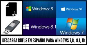 descargar rufus para windows